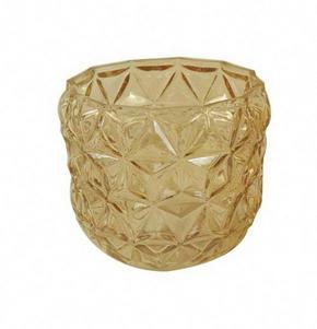 LJUSSTAKE - honung, Trend, glas (12/11cm) - Ambia Home