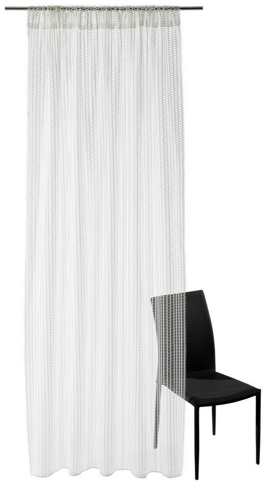 FERTIGVORHANG  transparent  140/245 cm - Creme, Basics, Textil (140/245cm) - Ambiente