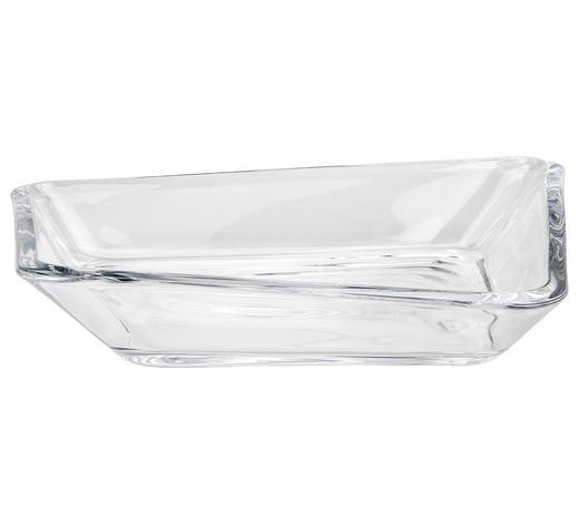 SCHALE  - Transparent, Design, Glas (34,00/30,40cm) - Leonardo