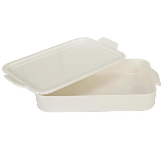 ZAPÉKACÍ MÍSA, porcelán - bílá, Basics, keramika (34,2/20,4/5,8cm) - Homeware Profession.