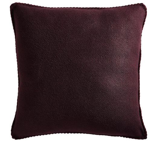 KISSENHÜLLE Bordeaux 48/48 cm  - Bordeaux, KONVENTIONELL, Textil (48/48cm) - Esposa