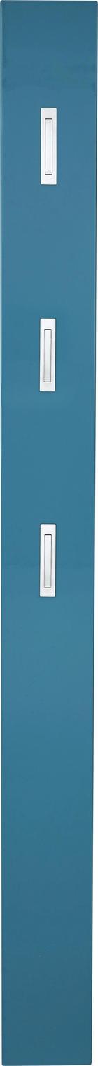 GARDEROBENPANEEL - Petrol, Design, Holzwerkstoff (15/170/4cm) - XORA