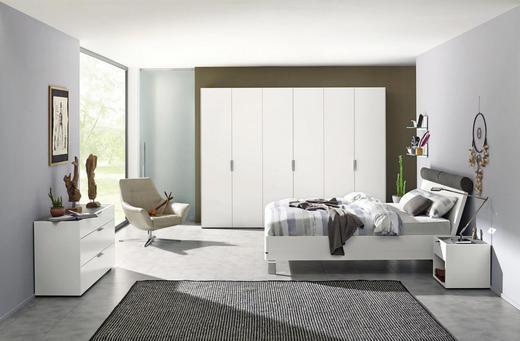 Schlafzimmer in weiß  SCHLAFZIMMER Grau, Weiß online kaufen ➤ XXXLutz