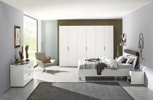 Schlafzimmer In Grau | Schlafzimmer Grau Weiss Online Kaufen Xxxlutz