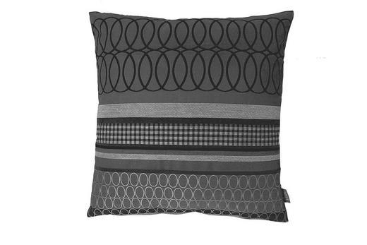 ZIERKISSEN 48/48 cm - Anthrazit, Basics, Textil (48/48cm) - Ambiente