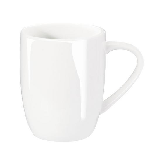 KAFFEEBECHER - Weiß, Basics, Keramik (0.35l) - ASA