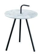 KLUB STOLIĆ siva, crna  metal, plastika, drvni materijal  - siva/crna, Moderno, drvni materijal/metal (48/52,5cm)