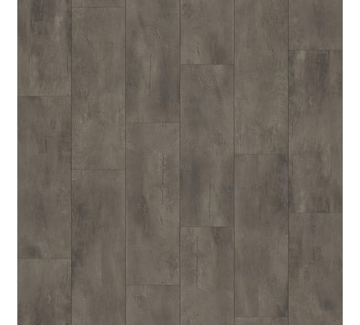 DESIGNBODEN per  m² - Dunkelgrau/Schwarz, MODERN, Holz/Kunststoff (128,5/19,4/0,8cm) - Parador