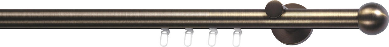 INNENLAUFSTANGE 160 cm  - Bronzefarben, Basics, Metall (160cm) - Homeware