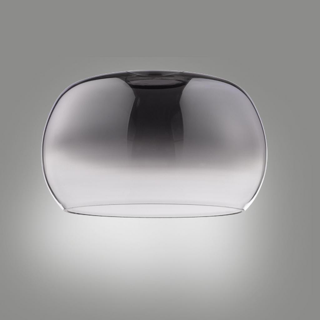 XXXLutz Leuchtenglas grau glas
