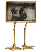 BILDERRAHMEN Goldfarben  - Goldfarben, Trend, Glas/Metall (19/38/10cm) - Kare-Design