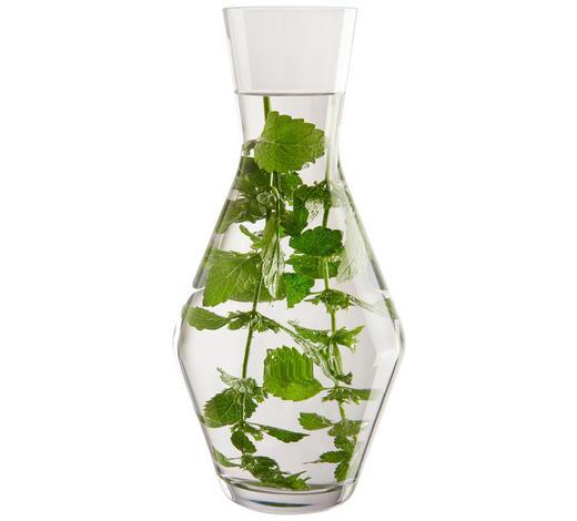 KARAFFE 1 L - Transparent, Design, Glas (13,00/27,20/13,00cm) - Leonardo