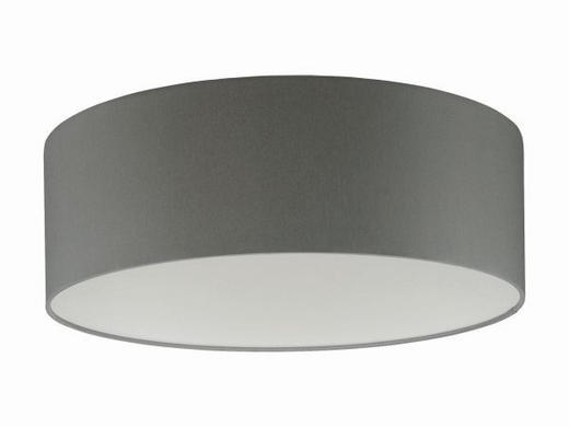 LEUCHTENSCHIRM  Grau  Kunststoff, Textil - Grau, Design, Kunststoff/Textil (40/13cm)