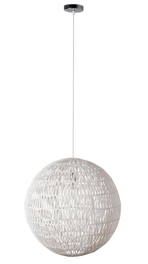 HÄNGELEUCHTE - Weiß, KONVENTIONELL, Metall (60/170cm)
