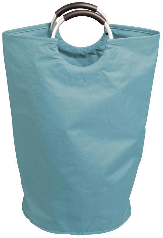 WÄSCHESACK - Hellblau, Basics, Textil (38,8/64/38cm) - Celina