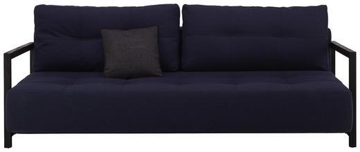 SCHLAFSOFA in Holz, Textil Blau - Blau/Schwarz, MODERN, Holz/Textil (210/70/115cm) - Innovation