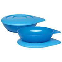 KINDERSCHÜSSEL - Blau, Basics, Kunststoff (12cm) - My Baby Lou