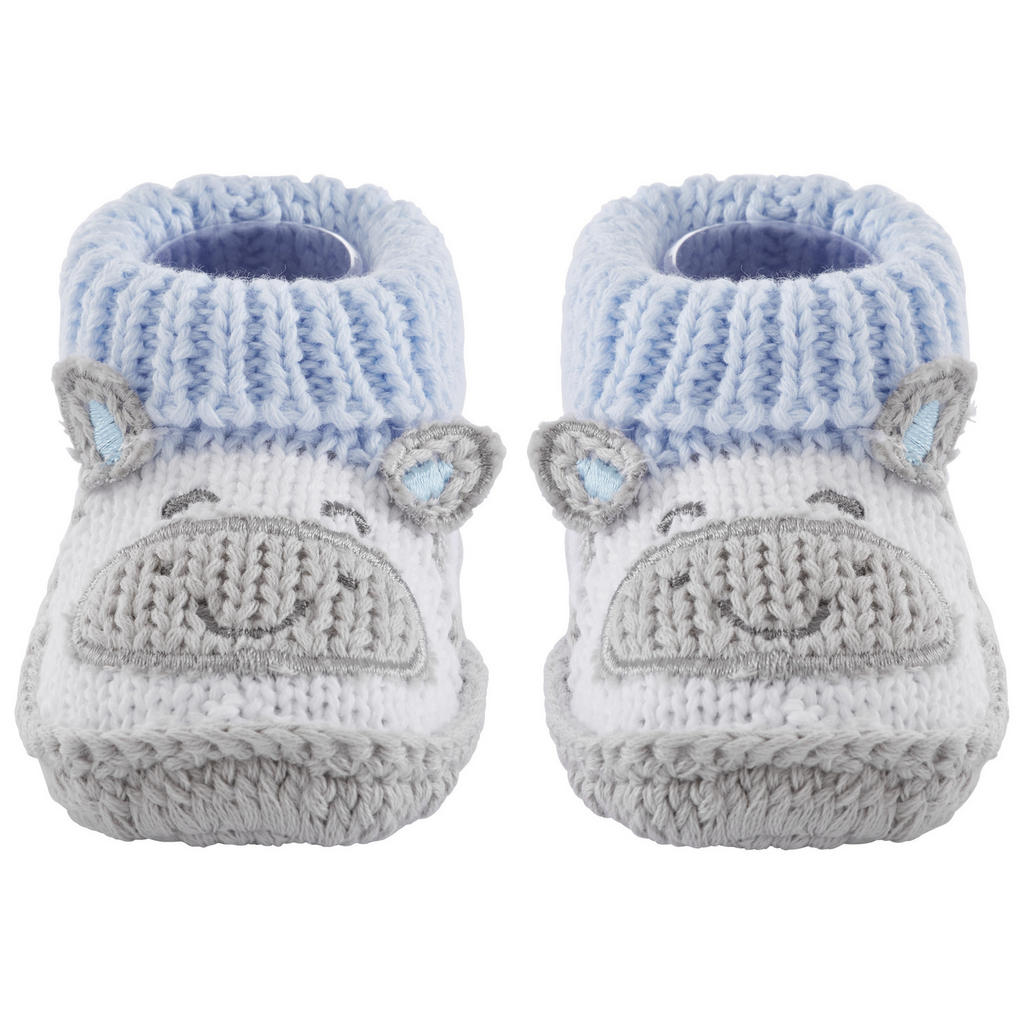 Image of My Baby Lou Schuhe , Funny Face , Blau, weiss , Textil , 10 cm , 007162003503
