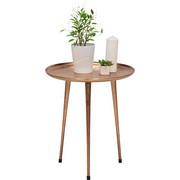 COUCHTISCH rund Kupferfarben - Kupferfarben, Design, Metall (50/56cm) - Xora