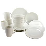 KOMBISERVICE WEIß-MATT 16-teilig - Weiß, Basics, Keramik - Creatable