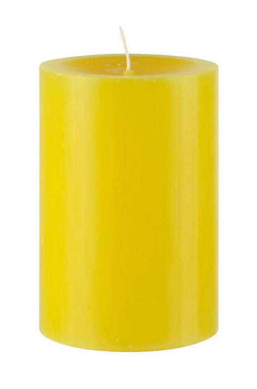 STUMPENKERZE 6,8/10 cm - Gelb, Basics (6,8/10cm) - Steinhart