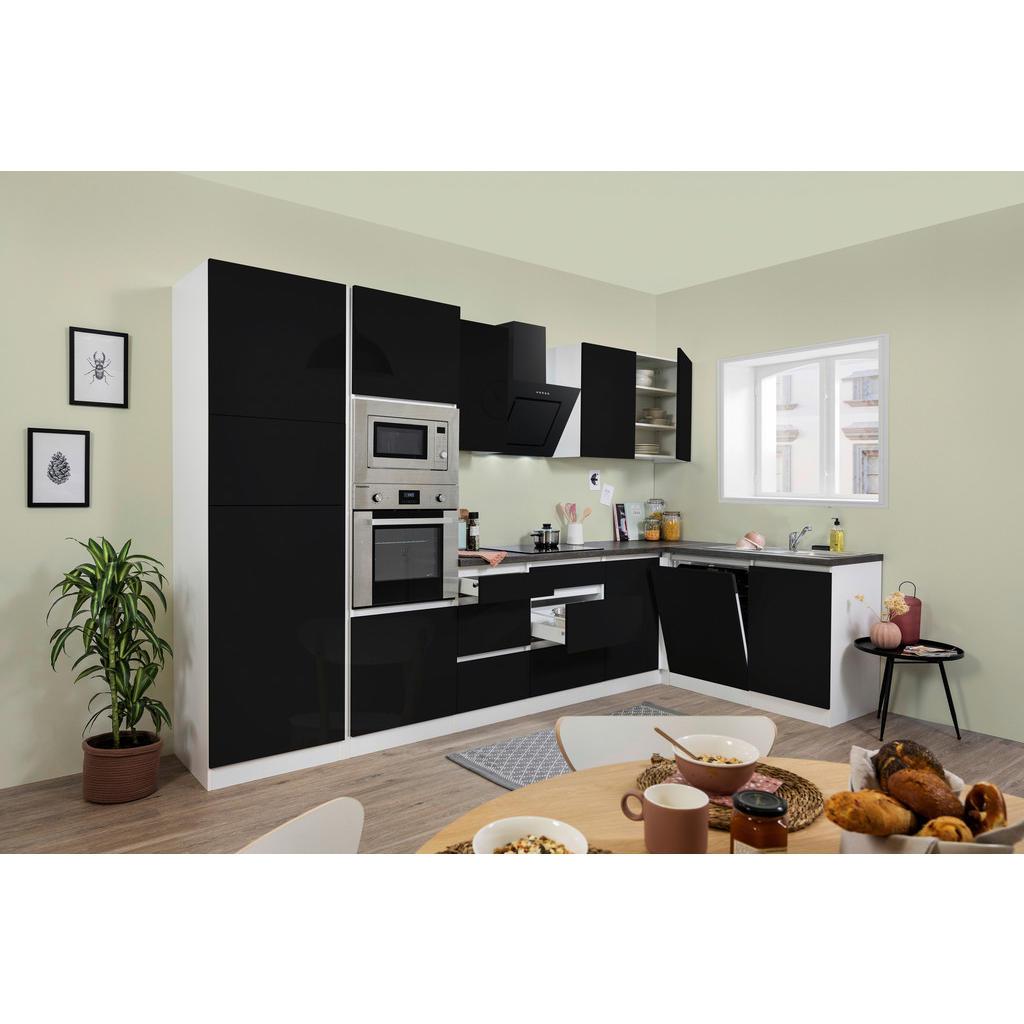 Respekta Küchenblock grifflos , Weiß , 5 Schubladen , 172 cm , Frontauswahl, links aufbaubar, rechts aufbaubar , Küchen, Küchenmöbel, Küchenzeilen & Küchenblöcke
