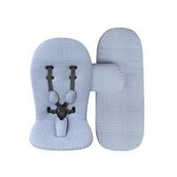 PODLOGA ZA VOZIČEK STARTERPACK - modra, tekstil (55/60cm) - Mima
