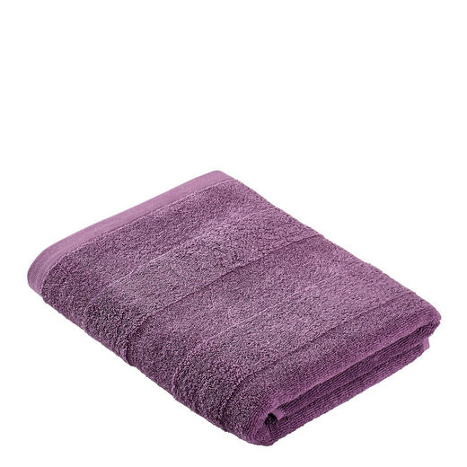 DUSCHTUCH 70/140 cm - Lila, Basics, Textil (70/140cm) - Linea Natura