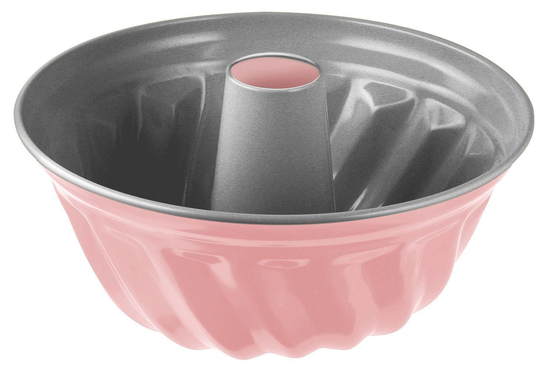 GUGELHUPFFORM - Silberfarben/Rosa, Metall (23/11,5cm)