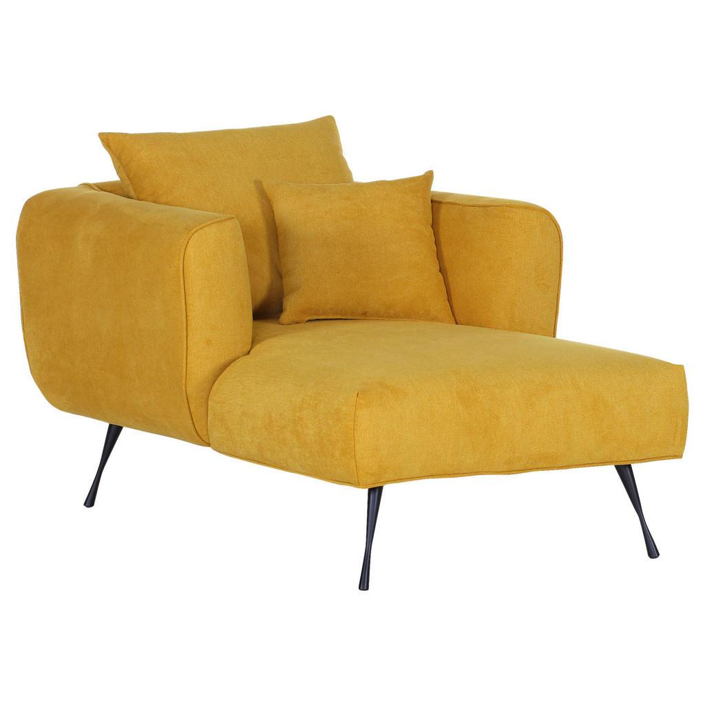 Livetastic BIG Sessel Flachgewebe Gelb