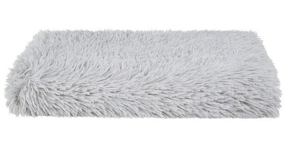 Kuscheldecke Carina - Silberfarben, KONVENTIONELL, Textil (150/200cm) - Luca Bessoni