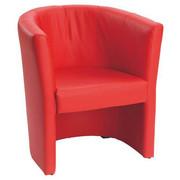 SESSEL - Rot/Schwarz, Design, Kunststoff/Textil (54/72/63cm) - Carryhome