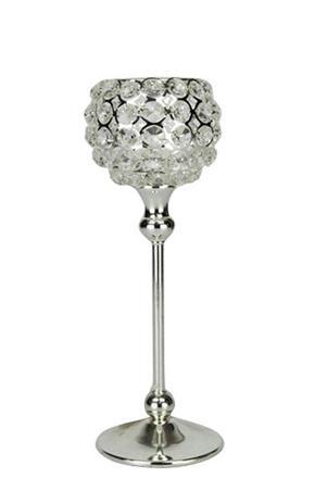 LJUSSTAKE - silver, Basics, metall/glas (10 30 cm) - Ambia Home