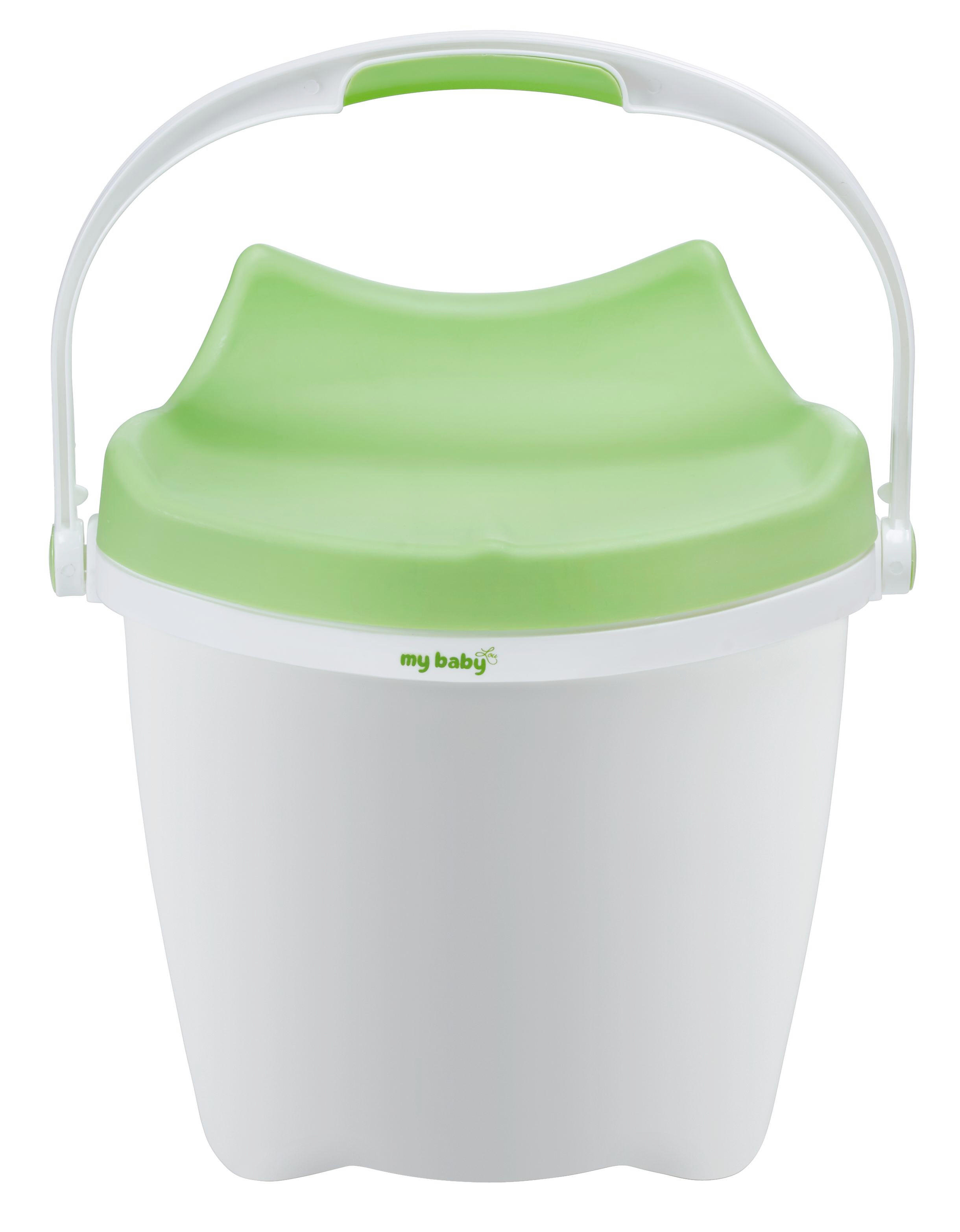 BLÖJHINK - vit/grön, Basics, plast (37/28/38cm) - My Baby Lou