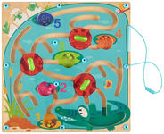 Magnetisches Labyrinth - Multicolor, Basics, Kunststoff (29,5/29,5/3cm) - My Baby Lou