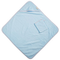 KAPUZENBADETUCH - Hellblau, Basics, Textil (80/80cm) - Patinio