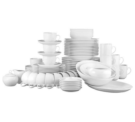 KOMBISERVICE 84-teilig - Weiß, Basics, Keramik - Seltmann Weiden