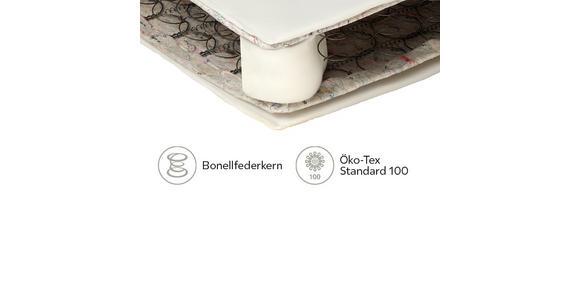 FEDERKERNMATRATZE 90/200 cm  - Weiß, Basics, Textil (90/200cm) - Sleeptex