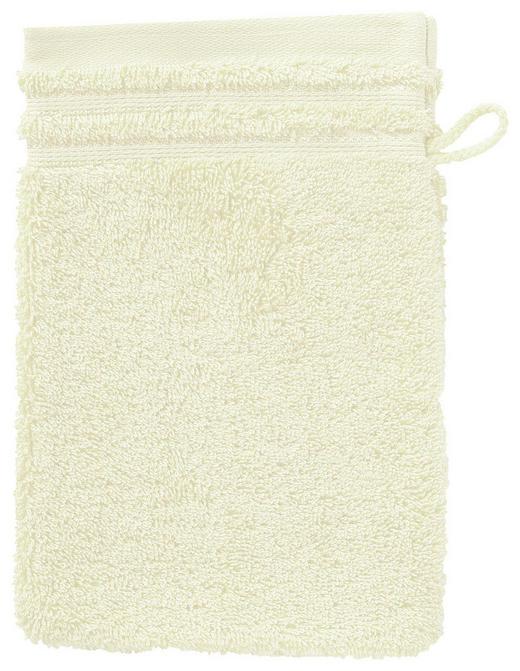 WASCHHANDSCHUH - Beige, Basics, Textil (22/16cm) - Vossen