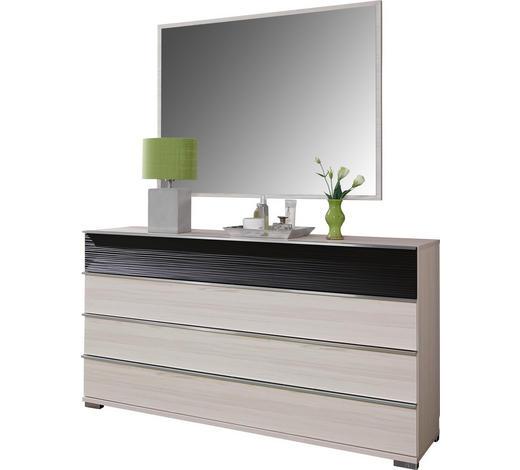 KOMODA, hnědá, barvy modřínu - barvy chromu/barvy modřínu, Design, kompozitní dřevo (149/82/44cm) - Dieter Knoll
