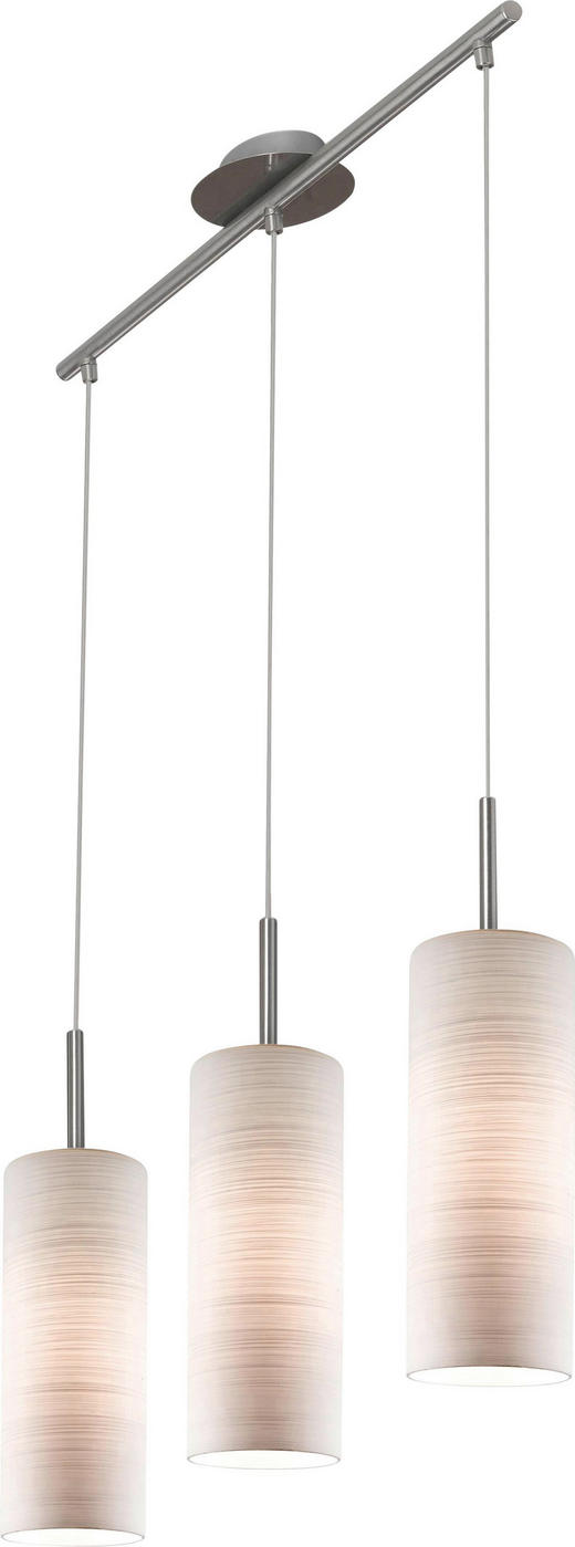 TAKLAMPA - vit, Klassisk, metall/glas (72cm)