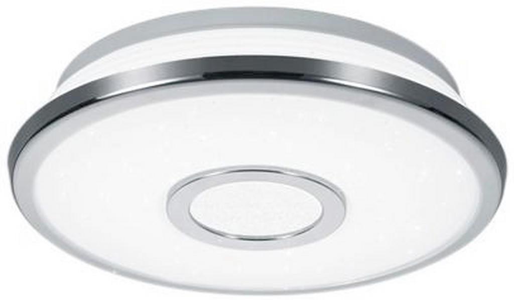 NOVEL LED-DECKENLEUCHTE, Silber, Weiß