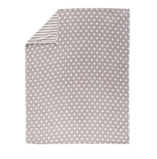 WOHNDECKE 150/200 cm Silberfarben - Silberfarben, Design, Textil (150/200cm) - Novel