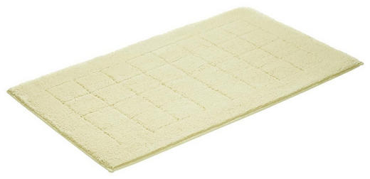 Badteppich 60 x 100  Creme  60/100 cm - Creme, Basics, Kunststoff/Textil (60/100cm) - VOSSEN