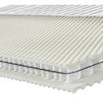 TASCHENFEDERKERNMATRATZE Höhe ca. 26 cm  - Weiß, KONVENTIONELL, Textil (90/200cm) - Novel