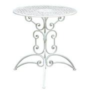 STOL VRTNI - bijela, Lifestyle, metal (70/74cm) - Ambia Garden