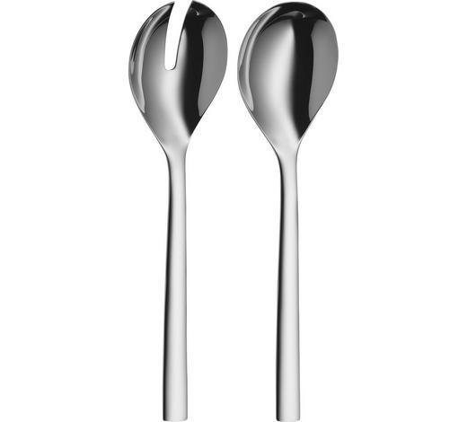 SALATBESTECK - Edelstahlfarben, Design, Metall (25cm) - WMF