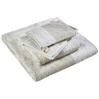 RUČNÍK PRO HOSTY - pískové barvy, Konvenční, textilie (30/50cm) - Cawoe