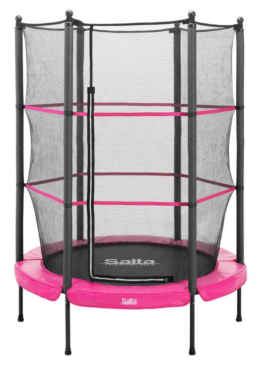 TRAMPOLIN SALTA JUNIOR Pink - Pink, Kunststoff/Metall (140cm)