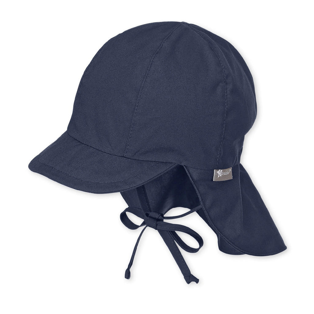 Sterntaler Schirmmütze mit nackenschutz ab 6 monaten dunkelblau 45